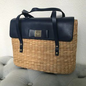 Clara Wicker Handbag